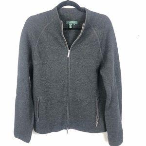 Ralph Lauren zip up wool jacket M8